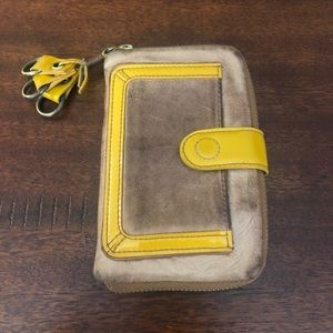 Anthropologie Pilcro leather wallet